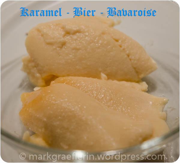 Karamel Bier Bavaroise