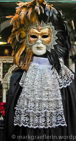 Maske Venezianer