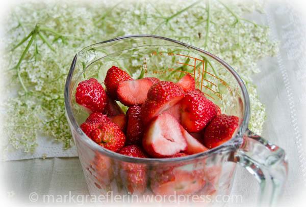 Holunderblüten-Erdbeer Gelee4