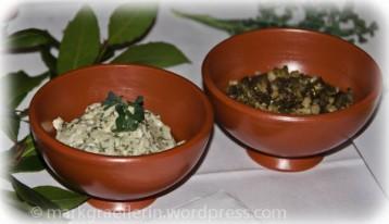 Moretum und Olivenpaste