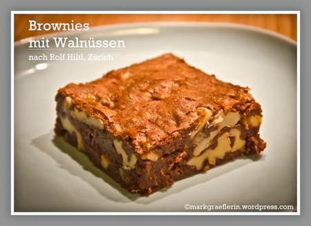 Hiltl Brownies selbst gebacken2