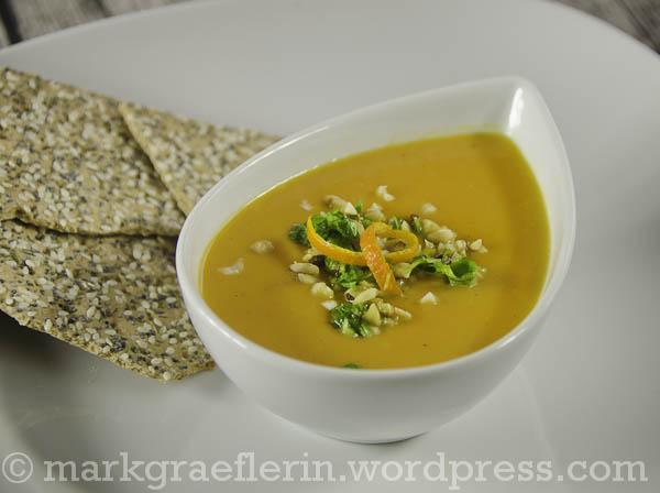 Blutorangen-Karotten Suppe1