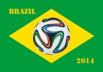 WM Brasilien Logo Blog