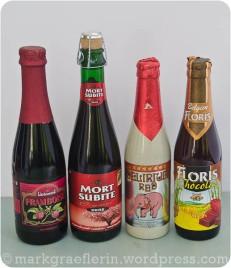 Urlaubsmitbringsel: Framboisen, Kriek, Schokolade