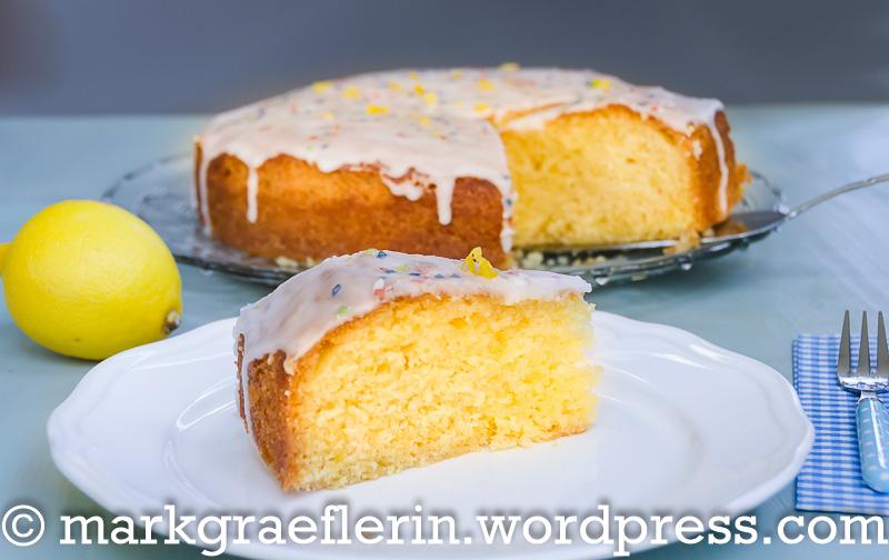 Einfach Nur Ein Saftiger Zitronenkuchen Lebensart Im