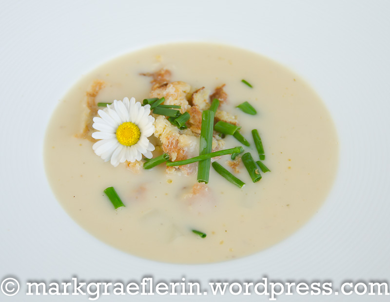 Spargelcreme Suppe 1