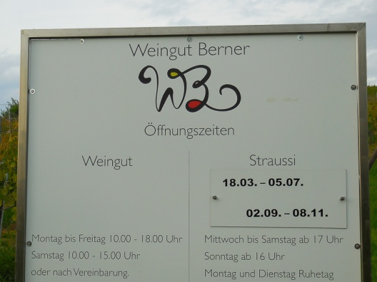 Berners Straussi Öffnungszeiten