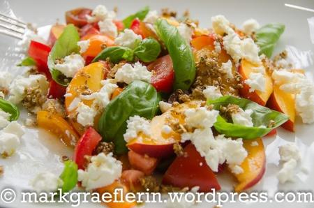 Tomaten Nektarinen Salat 3
