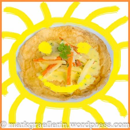Pfannkuchen Sonne