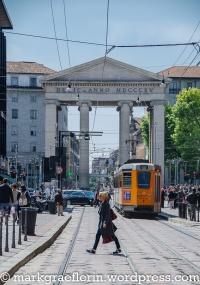 Blick vom Corso Porta Ticinese