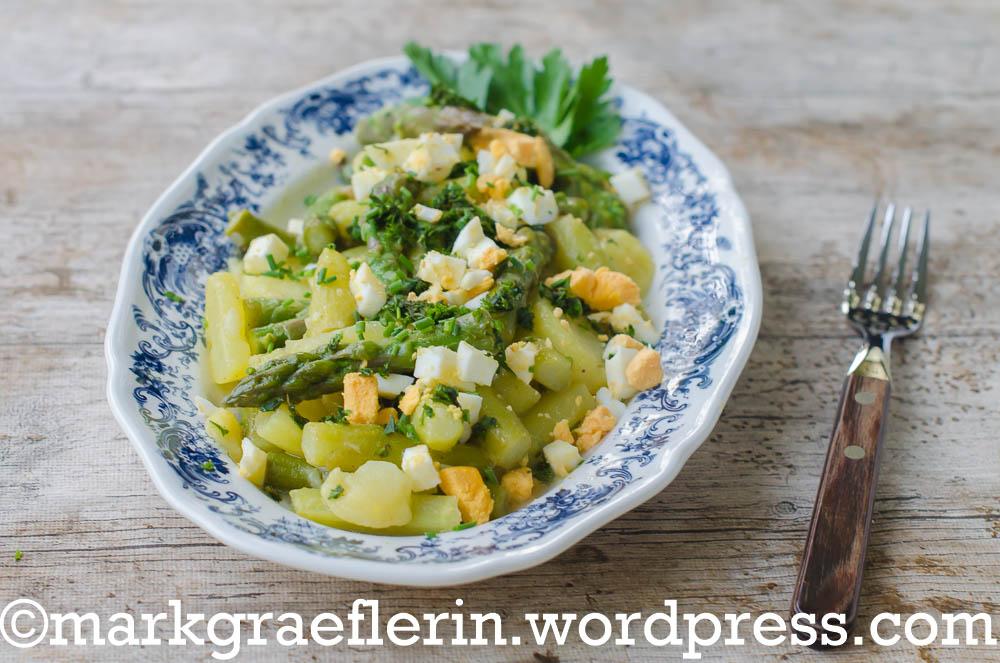 Spargelsalat neue Kartoffeln 5