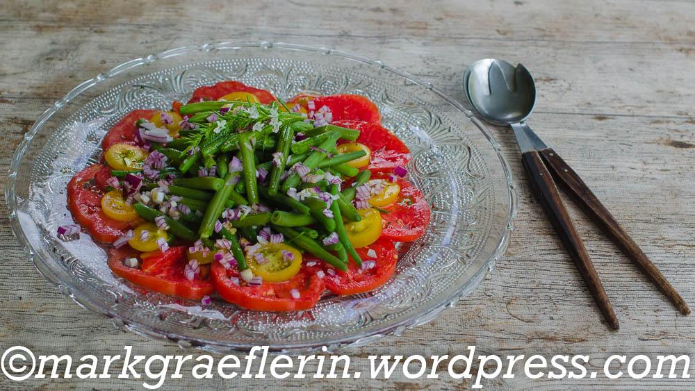 Bohnensalat Tomaten 3